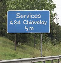 200px Chieveley road sign