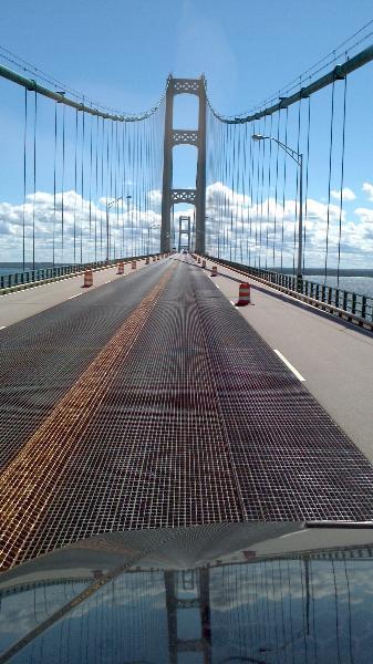 Al Goodhall Mackinac Bridge Michigan 2