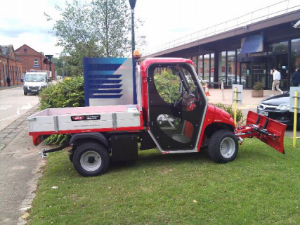 Drumarks Alke ATX electric truck with snow plough 427x320