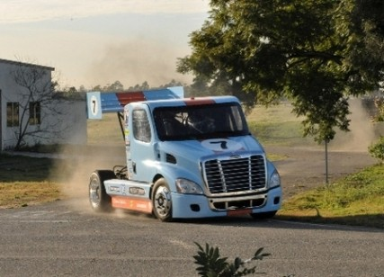 Mike Ryan Pikes Peak Freightliner Truck 427x308