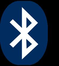 TN100 6 Bluetooth logo