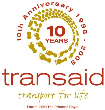 transaid 10years logo