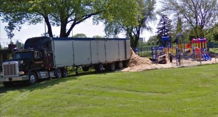 truck sand